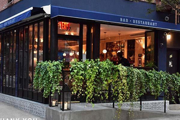 Brigitte Bisto Moderne<br> Manhattan Restaurant