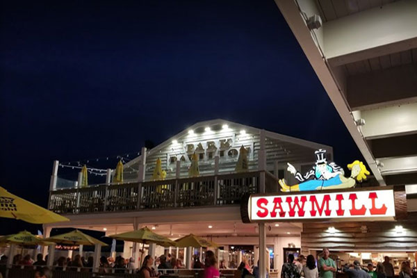 The Sawmill Restaurant - Seaside Park Boardwalk